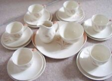 Royal Doulton England porcelaine complet Tea Set, Meadow Glow, Set de 21 pièces