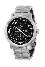 """Orologio cronografo """"Dolce & Gabbana"""" acciaio fondo nero DW0489"""
