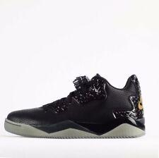 Jordan Leather Solid Athletic Shoes for Men