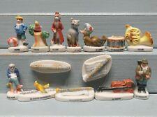 Série complète de fèves PIERRE ET LE LOUP 1999 CONTE * 102