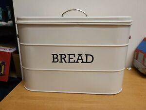 Creative Tops Bread Bin Tin Living Nostalgia Cream