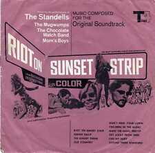"CHOCOLATE WATCHBAND & STANDELLS ""RIOT ON SUNSET STRIP"" ORIG IRAN DOUBLE 7""EPsI"