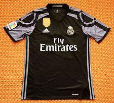2016 Real Madrid, Third Football Shirt by Adidas, Mens Small, #21 Juan