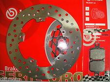 DISCO FRENO BREMBO + PASTIGLIE POSTERIORI GILERA 500 NEXUS DAL 2004 777