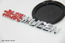 B236 Mugen Power Emblem Badge auto aufkleber metall Seite car Sticker
