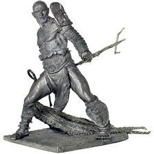 Rome. Gladiator Retiarius w/net, 1 BC. 75mm Tin toy soldier 1/23 metal sculpture
