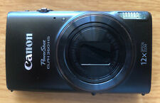 Canon PowerShot ELPH 360 HS 20.2 MP Digital Camera, Black + 16GB SDHC and Case