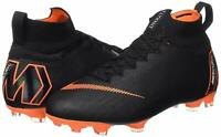 Nike Superfly 6 Elite FG Men's Size 7.5 Soccer Shoes Cleats - Black Orange