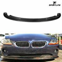 Fit For BMW Z4 E85 Roadster E86 Coupe Front Bumper Lip Spoiler Chin Carbon Fiber
