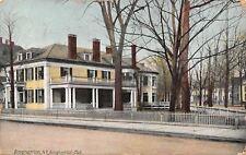 Binghamton New York~Binghamton Club~White Picket Fence~1914 Postcard