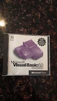 Microsoft Visual Basic 6 6.0 Learning Edition / Standard - EUC!