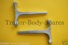 FREE UK Post - 2 x Small T Key Square Handles for Trailers and Horse Box