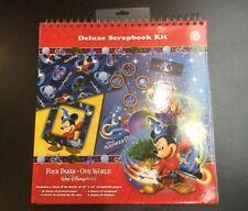 New Walt Disney World Deluxe Scrapbook Album Kit