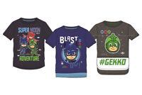 PJ Masks Kinder Jungen T-Shirt Helden Catboy Oberteil Gr. 98 104 110 116 128 Neu
