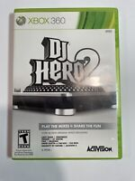 DJ Hero 2 Microsoft Xbox 360 cib