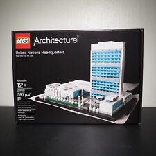 LEGO Architecture UNITED NATIONS HEADQUARTERS 21018 New York City, NY, USA UN HQ
