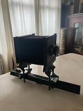 Sinar Alpina 4x5 Large Format Film Camera Body, Lens Board, and Extension Rail