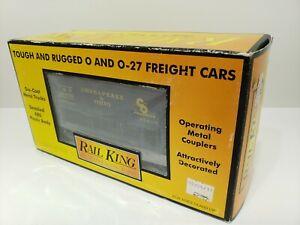 RAIL KING MTH ORE CAR W/ ORE LOAD CHESAPEAKE & OHIO NEW IN BOX O GAUGE 30-75316