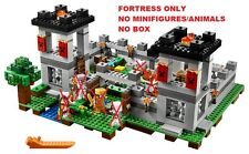 LEGO Minecraft 21127 The Fortress FORTRESS BRICKS ONLY No Minifigures No Box