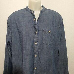 XXL Herrenhemd Jeanshemd Denim Hemd Shirt jeansshirt jeans obertei topper