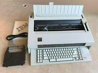 REFURBISHED IBM Lexmark Wheelwriter 5 Typewriter Wide Carriage 7K Storage