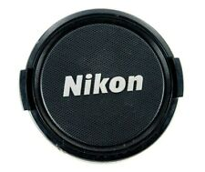 Nikon Genuine Original 58mm Front Lens Cap Nikkor Silver logo an121