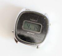 Tissot 34mm cal 4012 708 528 LCD vintage quartz watch head for PARTS SPARES