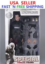 1/6 SWAT Police Soldier military combat Uniform Suit 12'' Action Figure FULL set