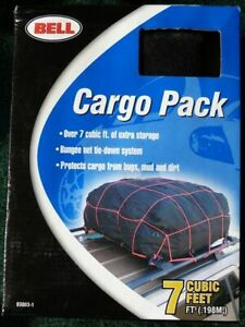 NIB* Bell  Car Roof Top Cargo Carrier Bag cargo pack with bungee net