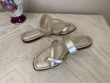 manolo blahnik sandals 40, new