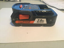 NEW - Latest Ridgid 2.0AH 18V Battery Lithium 18 VOLT X4 with Battery Charger