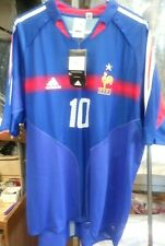 NWT Authentic Adidas 2004 France Zidane Jersey Real Madrid
