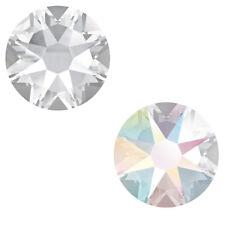 Genuine SWAROVSKI 2058 & 2088 Flat Backs * Crystal Clear & Crystal AB Colors
