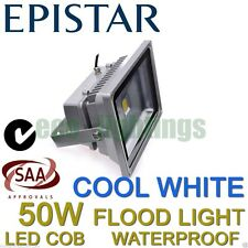 LED 50W FLOOD OUTDOOR WASH LIGHT LAMP WATERPROOF COB HIGH POWER FLOODLIGHT COOL