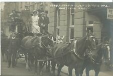 More details for devon, ilfracombe, copps coach outside royal clarence hotel 1909, photo postcard