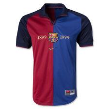 Nike FCB Short Sleeve Centennial 1899 Jersey Blue/Red Large CS077 NN 03