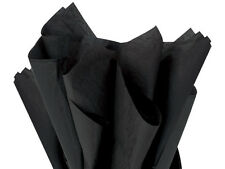 "lot Black Tissue Paper 960 Sheets 15x20"" Gift bags wrap Crafts Holiday Weddings"