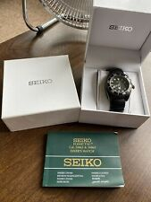 Mens Seiko Kinetic Divers Watch 200m Water Resistant