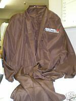 GOLDWELL Professional STYLING JACKET (Free Size) Polyester Fabric ~Brown Color!!