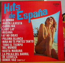 HITS DE ESPANA SEXY COVER SPAIN PRESS LP MALLER 1975