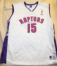Vintage Champion Toronto Raptors #15 Vince Carter Throwback Jersey 48 XL