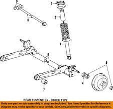 TOYOTA OEM 97-98 Tercel Rear-Shock Absorber or Strut 4853080013
