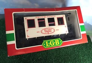 LGB #1982 101st ANNIVERSARY PASSENGER COACH G GAUGE 300mm 2-AXLE CAR
