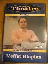 DVD * L'EFFET GLAPION * MICHEL ROUX JACQUES AUDIBERTI AU COEUR DU THEATRE