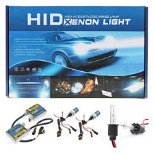 New HID Xenon Headlight Conversion Kit H3 Low High Beam 3200LM 6000K 9-16V