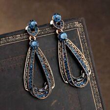 Rhinestone Teardrop Drop Long Earrings Dangle Earrings Earring Women Jewelry