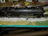 HO SCALE RIVEROSSI #5405, 4-6-4 STEAM ENGINE AND TENDER NEW YORK CENTRAL, eng500