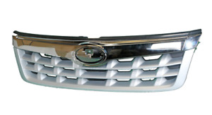 *NEW* FRONT GRILLE MESH (CHROME - BLACK) for SUBARU FORESTER SH 8/2010 - 8/2012