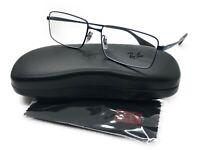 Ray-Ban RB 6337M 2510 Eyeglasses Optical Frames Glasses Shiny Blue ~ 55mm