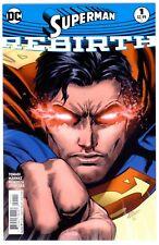 1)SUPERMAN REBIRTH #1(8/16)TOMASI/GLEASON/MAHNKE(BATMAN/WONDER WOMAN)CGC IT(9.6)